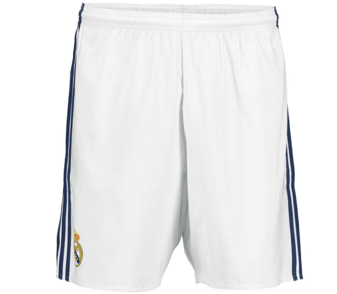 eb862b205 Real Madrid 2016-2017 Home Shorts (White) [AI5200] - $17.12 Teamzo.com