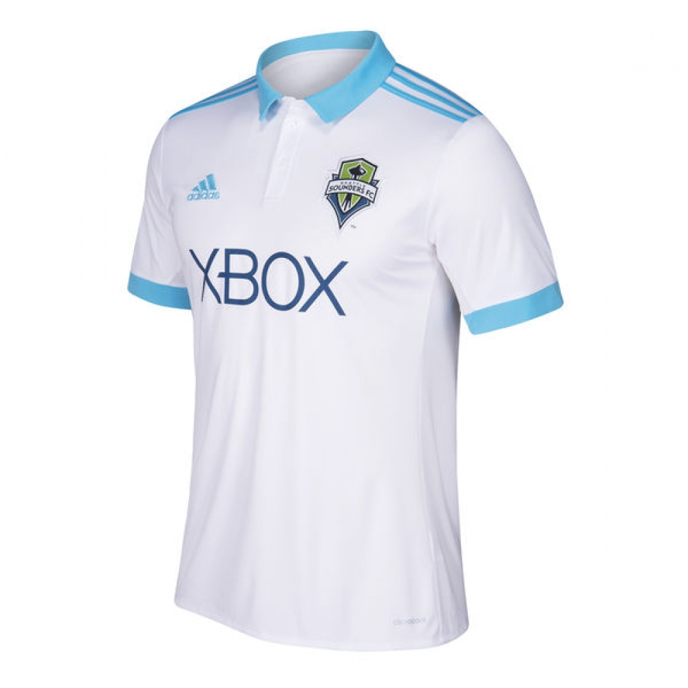 cheaper 66bac 88877 2018 Seattle Sounders Adidas Away Football Shirt - Kids