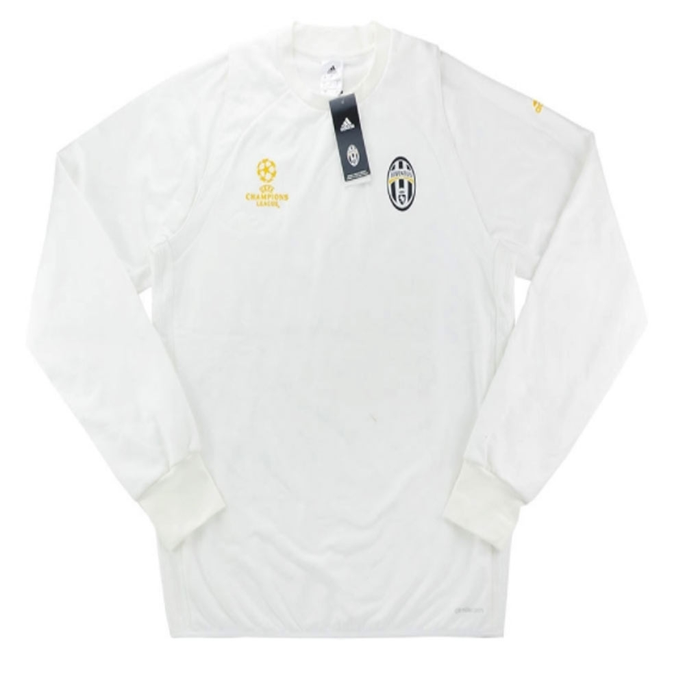 newest 14d95 92926 2016-17 Juventus Adidas Champions League Fleece Training Top (White)