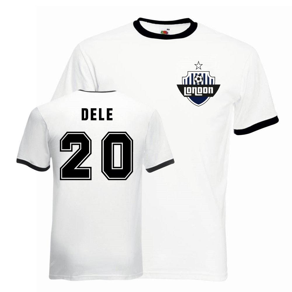 brand new 2ea67 0c509 Dele Alli Tottenham Ringer Tee (white-black)