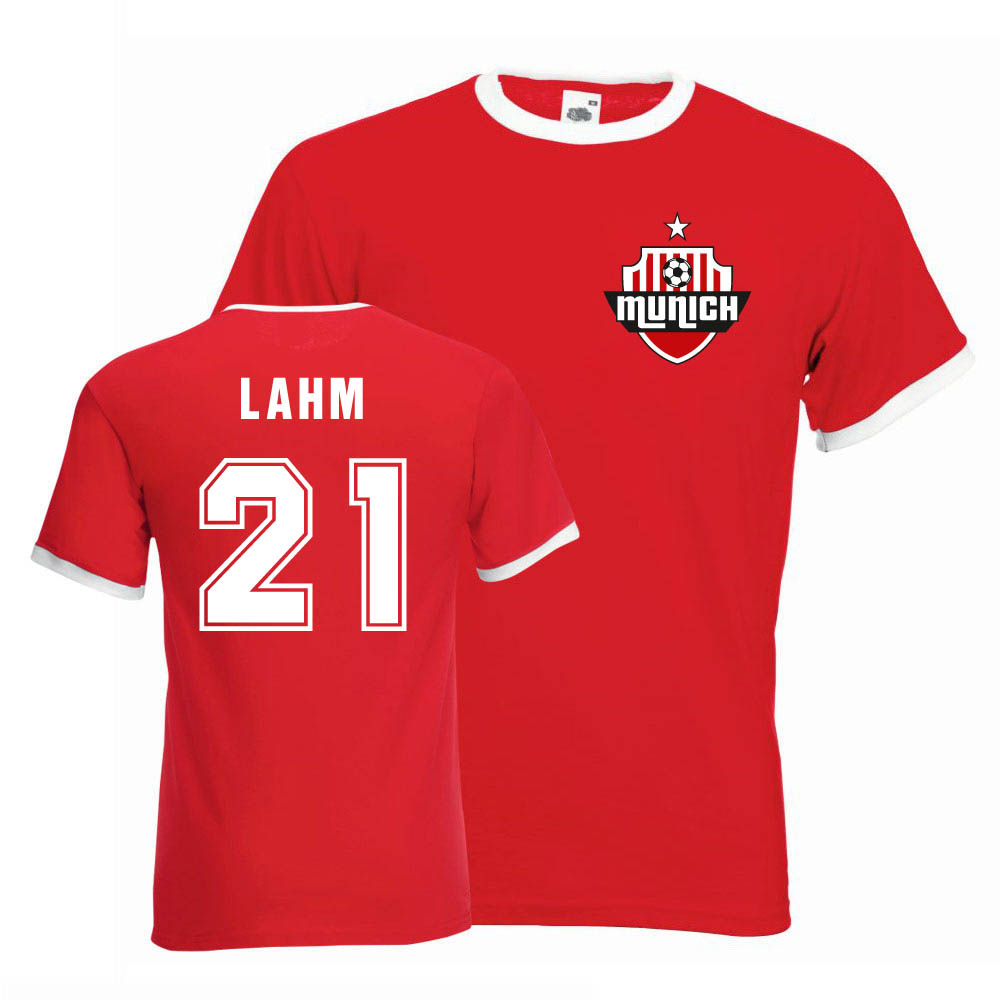 cheap for discount 7dbc3 0e6d5 Philipp Lahm Bayern Munich Ringer Tee (red)