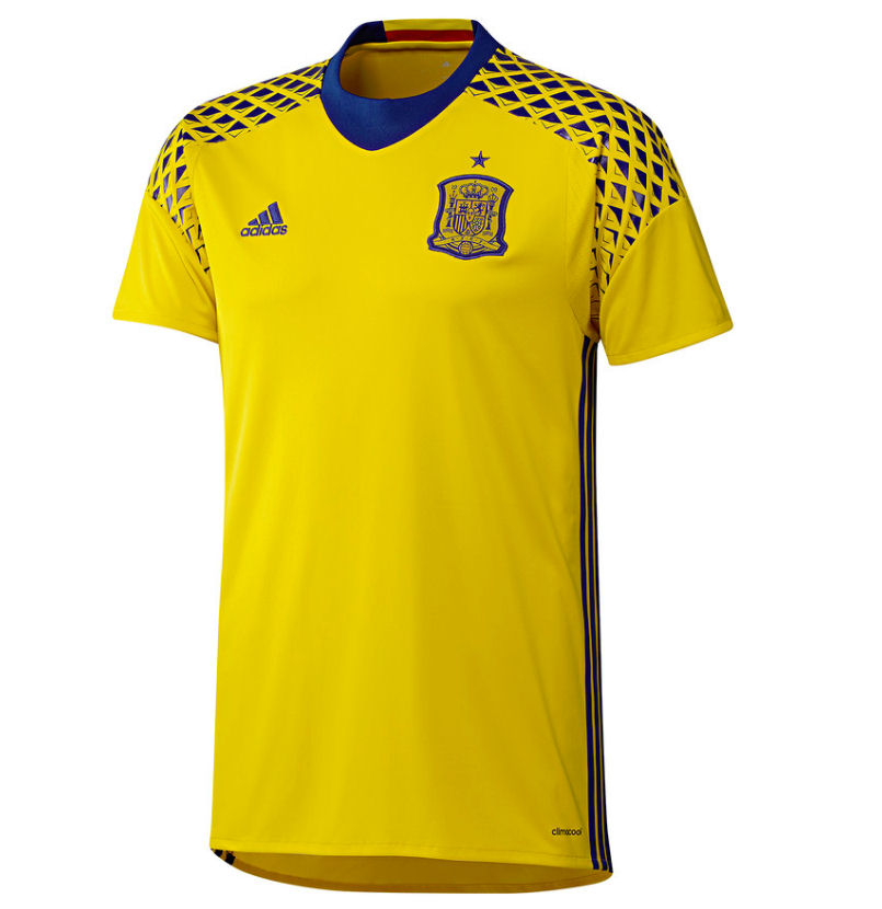 Spain 2016-2017 Away Goalkeeper Shirt (Yellow)  AI9164  -  35.78 ... 5811ea17b
