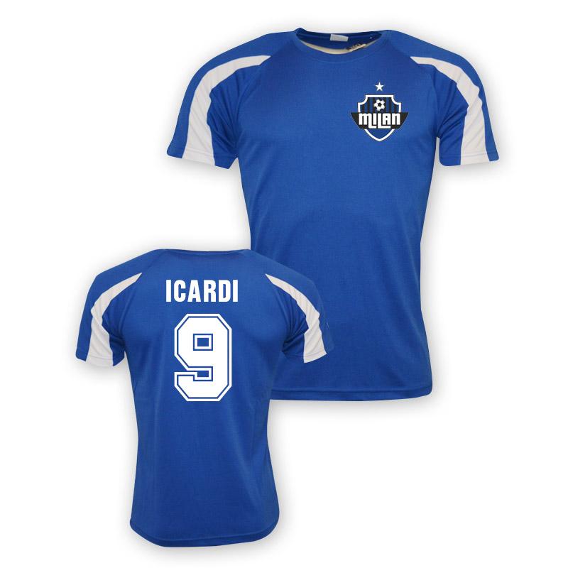 classic fit f4798 47125 Mauro Icardi Inter Milan Sports Training Jersey (blue) - Kids