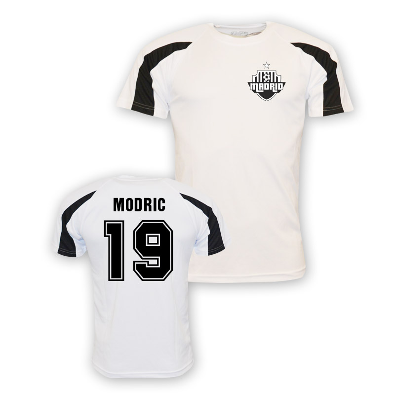 premium selection f1f5d b61bd Luka Modric Real Madrid Sports Training Jersey (white) - Kids