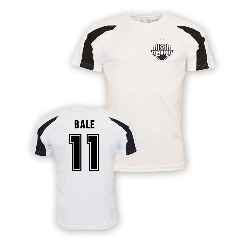 outlet store 4dcdd df860 Gareth Bale Real Madrid Sports Training Jersey (white) - Kids