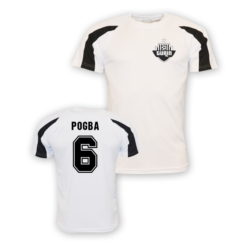 sports shoes 147f5 f5010 Paul Pogba Juventus Sports Training Jersey (white) - Kids