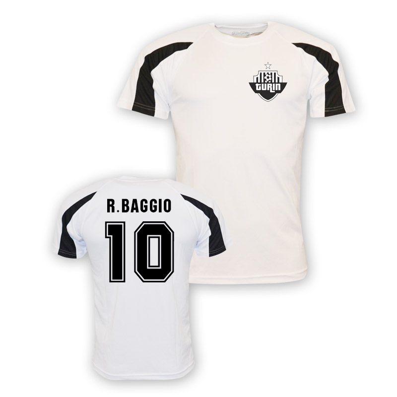 save off e6300 2394e Roberto Baggio Juventus Sports Training Jersey (white) - Kids