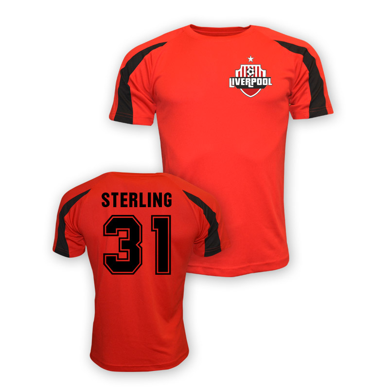 sale retailer aa120 e8ead Raheem Sterling Liverpool Sports Training Jersey (red)