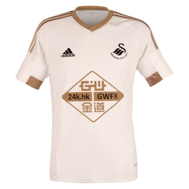 watch 9878e 8e65d Swansea City 15-16 Home Shirt (Kids)