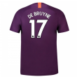 2018-2019 Man City Third Nike Football Shirt (De Bruyne 17) - Kids
