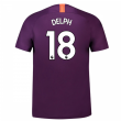 2018-2019 Man City Third Nike Football Shirt (Delph 18) - Kids