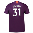 2018-2019 Man City Third Nike Football Shirt (Ederson 31) - Kids