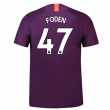 2018-2019 Man City Third Nike Football Shirt (Foden 47) - Kids