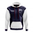 New Zealand Concept Country Football Hoody (Navy)