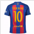 2016-17 Barcelona Home Shirt (Your Name) -Kids