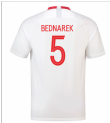 2018-19 Poland Home Shirt (Bednarek 5)