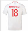 2018-19 Poland Home Shirt (Bereszynski 18) - Kids