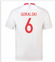 2018-19 Poland Home Shirt (Goralski 6)