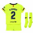 c9fa0f6bafc 2018-2019 Barcelona Away Nike Long Sleeve Shirt (N Semedo 2) [919045 ...