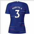 2018-2019 Chelsea Home Nike Ladies Shirt (Marcos A 3)