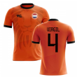 2018-2019 Holland Fans Culture Home Concept Shirt (VIRGIL 4)