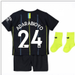 2018-2019 Man City Away Nike Baby Kit (Adarabioyo 24)