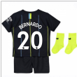 2018-2019 Man City Away Nike Baby Kit (Bernardo 20)