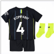 2018-2019 Man City Away Nike Baby Kit (Kompany 4)