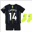 2018-2019 Man City Away Nike Baby Kit (Laporte 14)