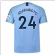 2018-2019 Man City Home Nike Football Shirt (Adarabioyo 24)