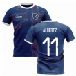2020-2021 Glasgow Home Concept Football Shirt (ALBERTZ 11)