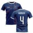 2020-2021 Glasgow Home Concept Football Shirt (AMORUSO 4)