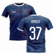 2020-2021 Glasgow Home Concept Football Shirt (ARFIELD 37)