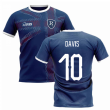 2020-2021 Glasgow Home Concept Football Shirt (DAVIS 10)