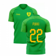2020-2021 Norwich Away Concept Football Shirt (PUKKI 22)