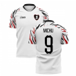 2020-2021 Swansea Home Concept Football Shirt (Michu 9)