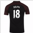 2016-17 Manchester City Away Shirt (Delph 18) - Kids