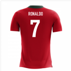2018-2019 Portugal Airo Concept Home Shirt (Ronaldo 7) - Kids