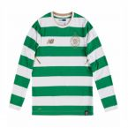 Celtic 2017-2018 Home Long Sleeve Shirt (Kids)
