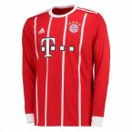 Bayern Munich 2017-2018 Long Sleeve Home Shirt