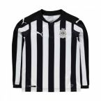 Newcastle 2017-2018 Home Long Sleeve Shirt (Kids)