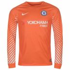 Chelsea 2017-2018 Goalkeeper Shirt (Orange) - Kids