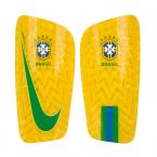 Brazil 2018-2019 Mercurial Lite Shinpads (Yellow)
