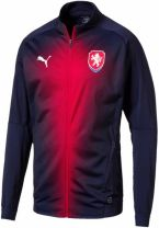 Czech Republic 2018-2019 Stadium Jacket (Peacot)