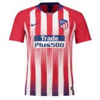 Atletico Madrid 2018-2019 Authentic Vapor Match Home Shirt