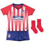 Atletico Madrid 2018-2019 Home Baby Kit