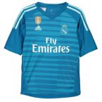 Real Madrid 2018-2019 Away Goalkeeper Shirt (Blue)