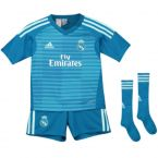 Real Madrid 2018-2019 Away Goalkeeper Mini Kit