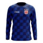 Croatia 2018-2019 Long Sleeve Away Concept Shirt