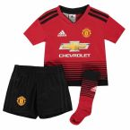 Man Utd 2018-2019 Home Mini Kit
